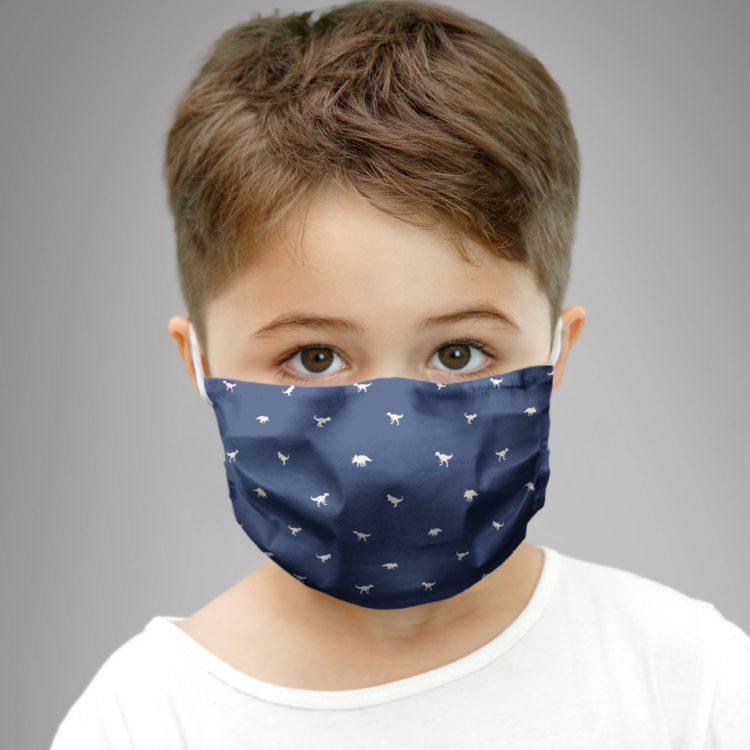 dziecięca maseczka ochronna TINY DINO'S (XS)