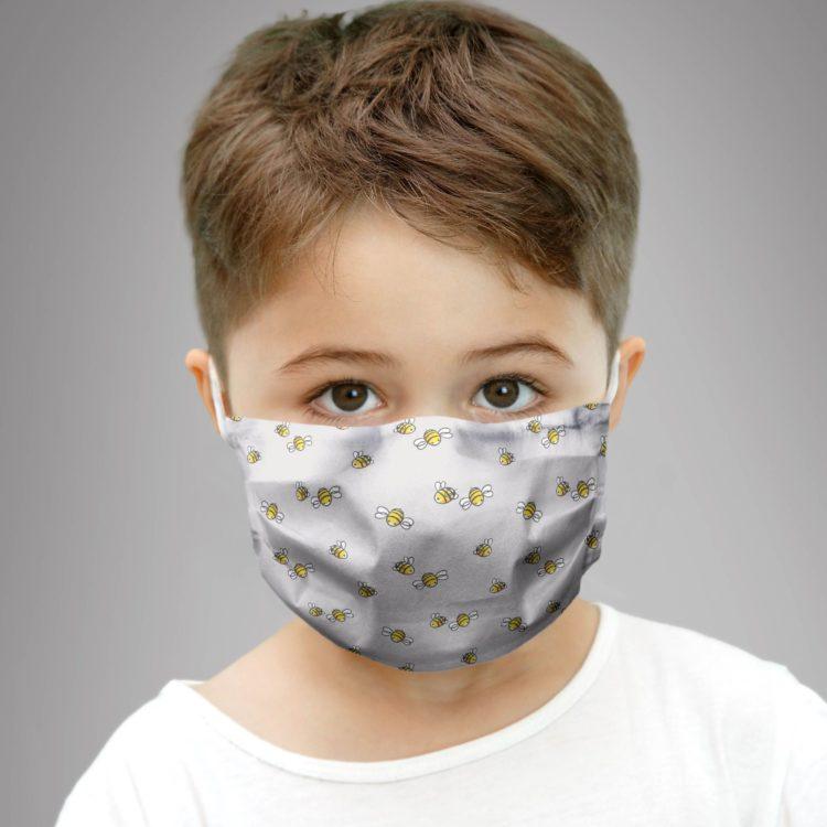 dziecięca maseczka ochronna BEE YOURSELF (XS)