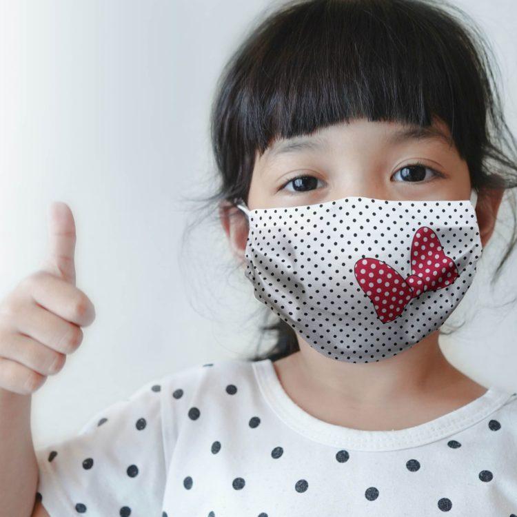 dziecięca maseczka ochronna MINNIE (XS)