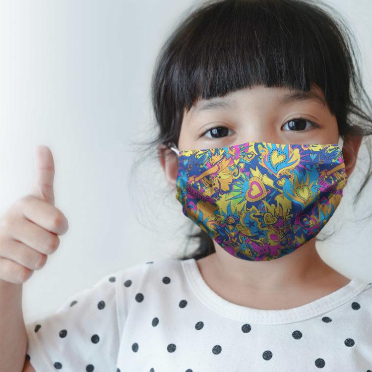 dziecięca maseczka ochronna FANTASTIC (XS)