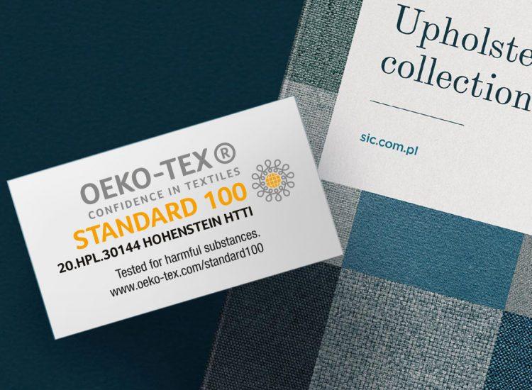 Certyfikat OEKO-TEX® dla SIC